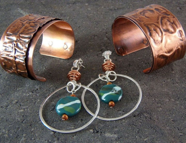 Jewelry designer Dawn Grady Creates Wearable Art