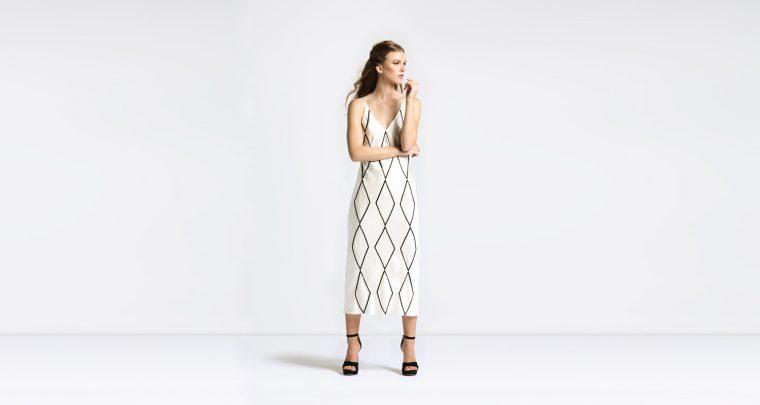 Fashion Designer Calle Evans Gives Us the Slip
