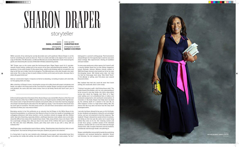 Polly Magazine » » Sharon Draper – Storyteller